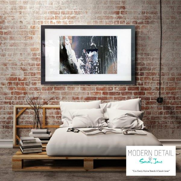 Abstract Art Print for the bedroom By Artist Sarah Jane - Anonymous XIIa