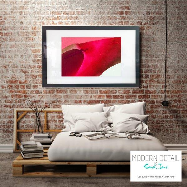 Abstract Art Print for the bedroom By Artist Sarah Jane - Being Watched VI
