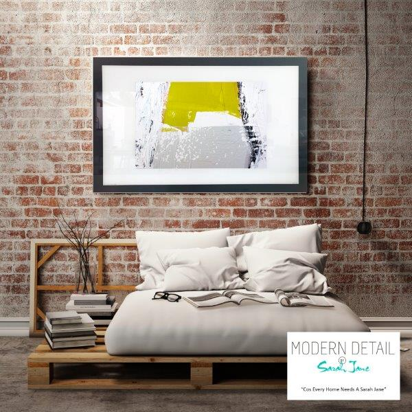 Abstract Art Print for the bedroom By Artist Sarah Jane - Cozzie Va