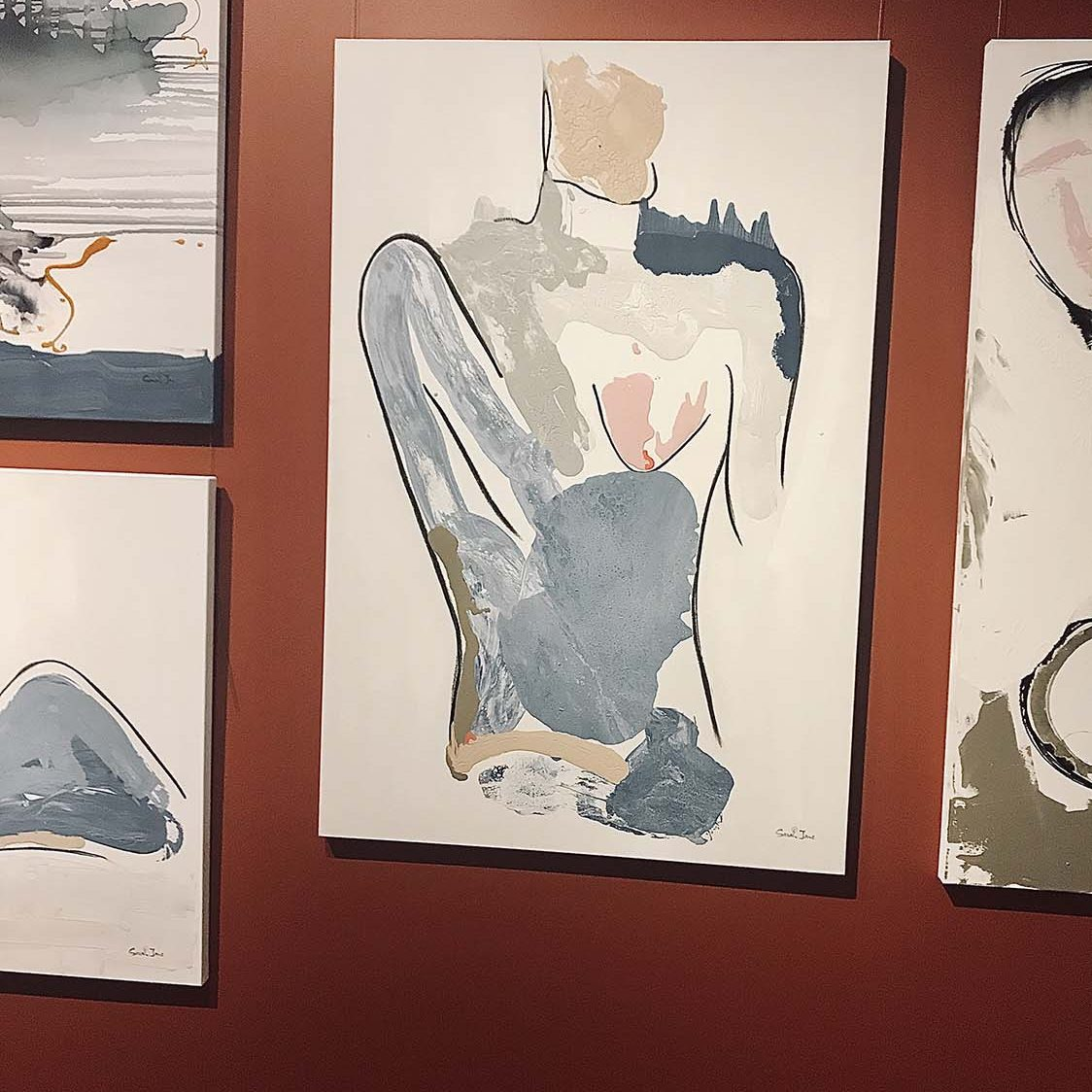 Adelaide Art Exhibition -Bodyline I - Sarah Jane Artist