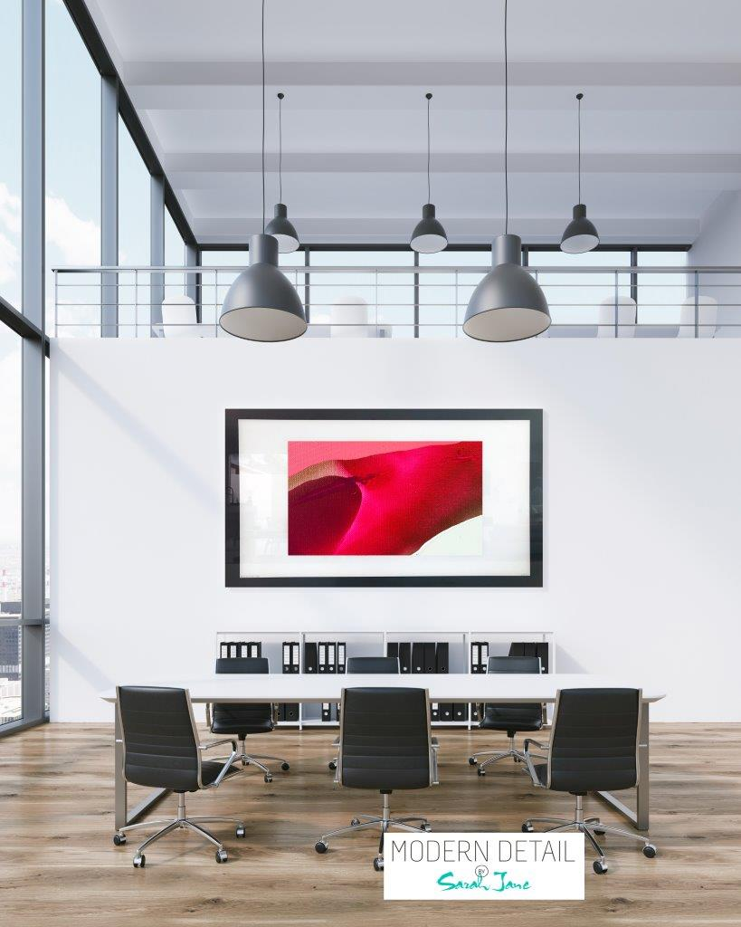 Art for a boardroom from Modern Detail By Sarah Jane - Being Watched VI