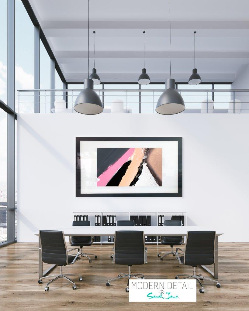 Art for a boardroom from Modern Detail By Sarah Jane - Being Watched XVIIIa