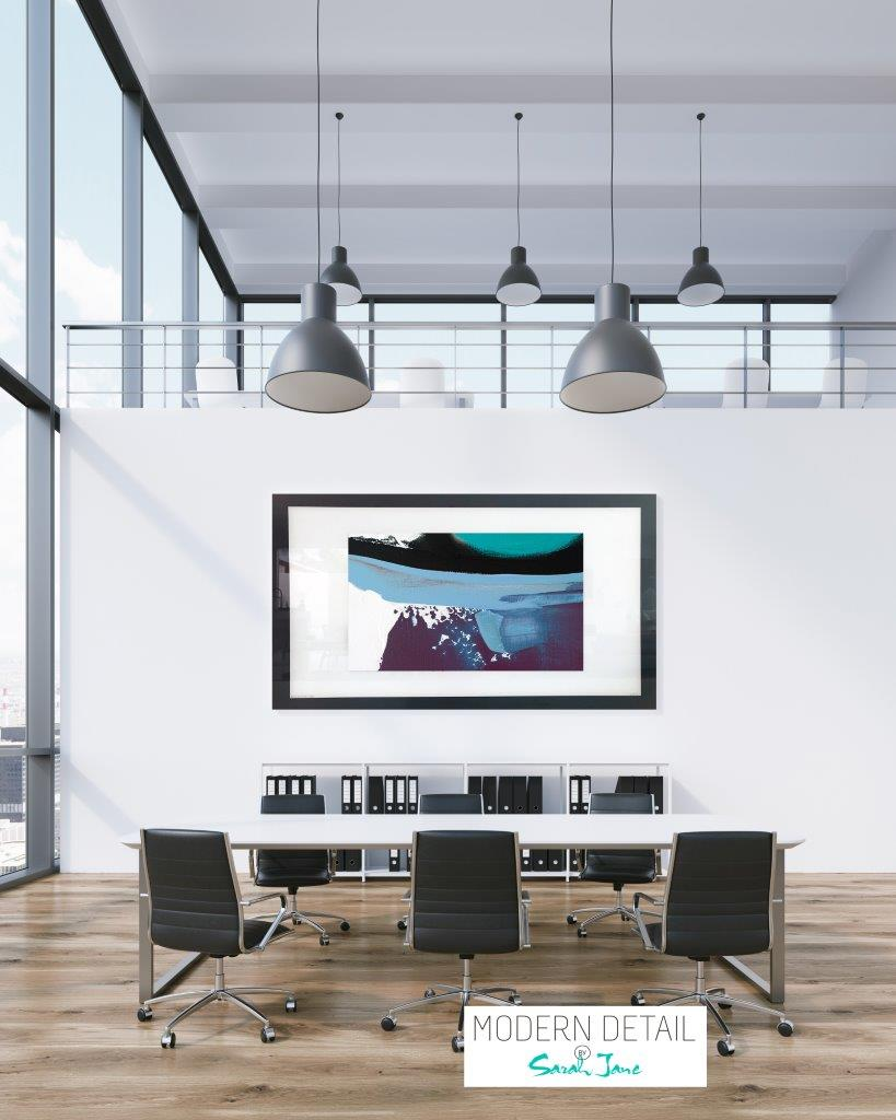 Art for a boardroom from Modern Detail By Sarah Jane - Being Watched XVIc