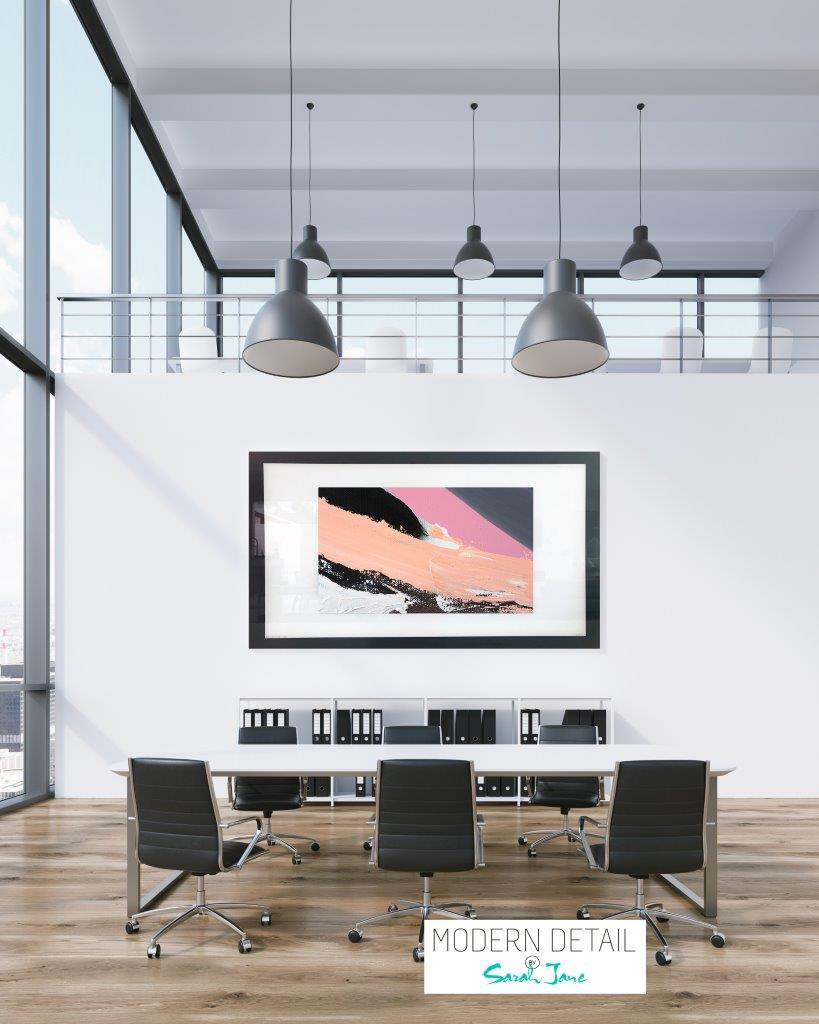 Art for a boardroom from Modern Detail By Sarah Jane - Being Watched XXa