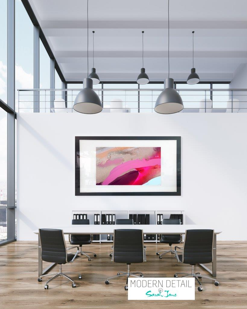 Art for the boardroom from Modern Detail By Sarah Jane - Being Watched II
