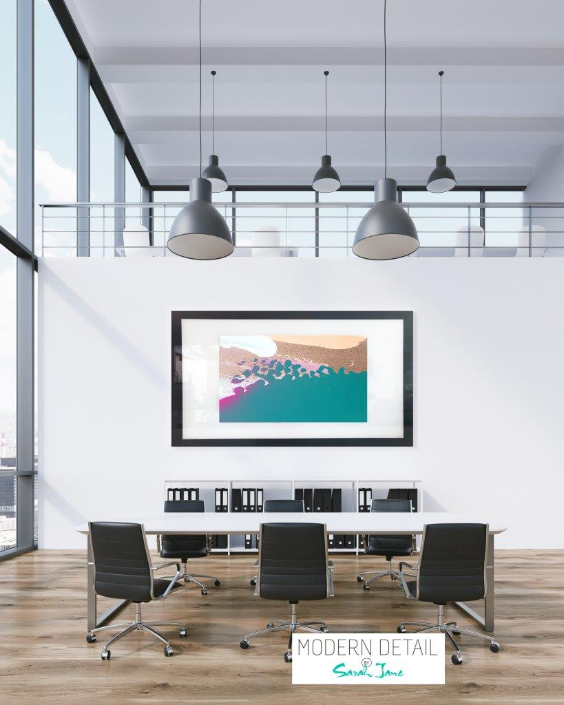 Art for the boardroom from Modern Detail By Sarah Jane - Being Watched VIIIa