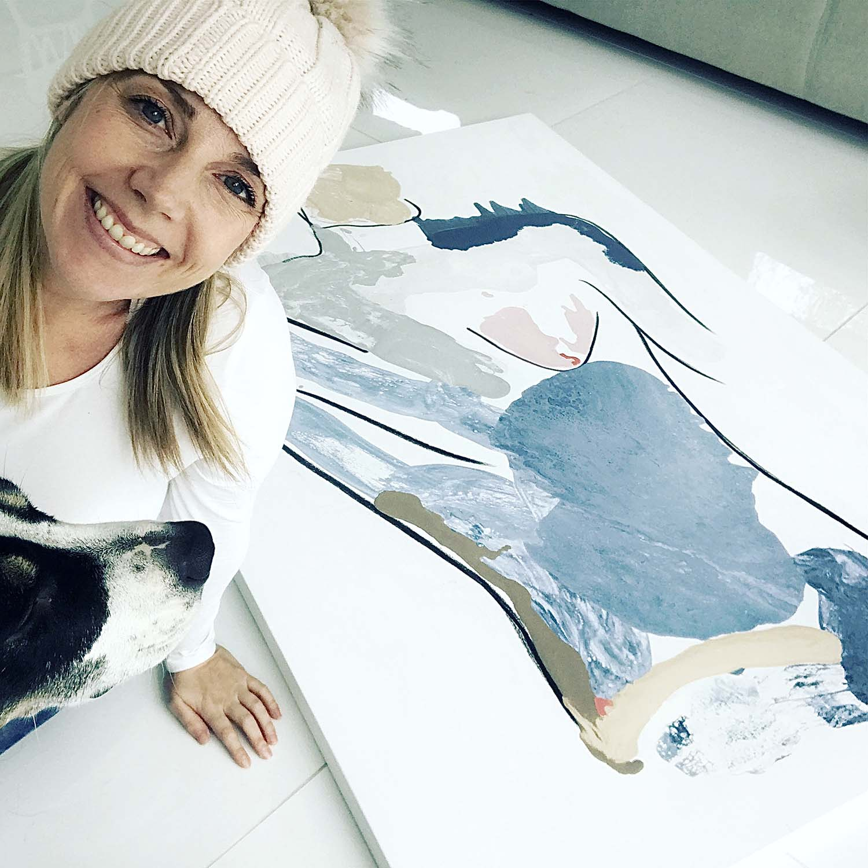 Art - people - Bodyline I - Artist Sarah Jane