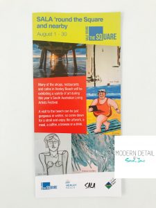 Artist Sarah Jane features in the Henley Square SALA Festival in Adelaide