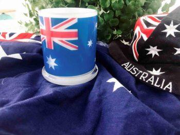 Australia Candle by Artist Sarah Jane