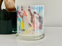 Candleholder with Sarah Jane artwork - Like A Kid In A Candy Shop V