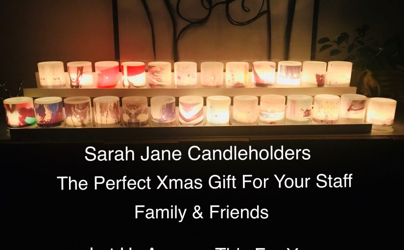 Sarah Jane Candleholders Are The Perfect Gift This Christmas For Staff, Family and Friends