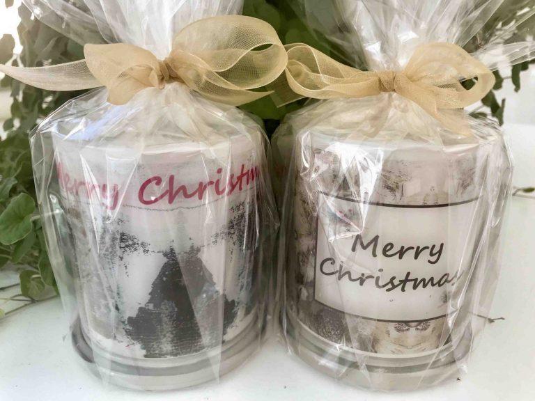 Christmas Candles By Sarah Jane make great Christmas Gifts