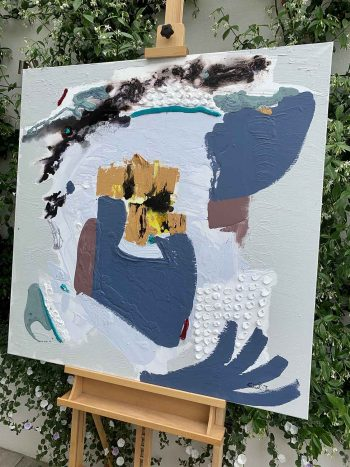 Climate Change II - Abstrtact Painting - Sarah Jane Artist Adelaide