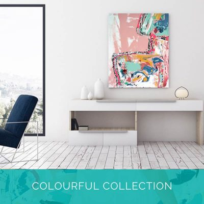 Bright Coloured Art Collection