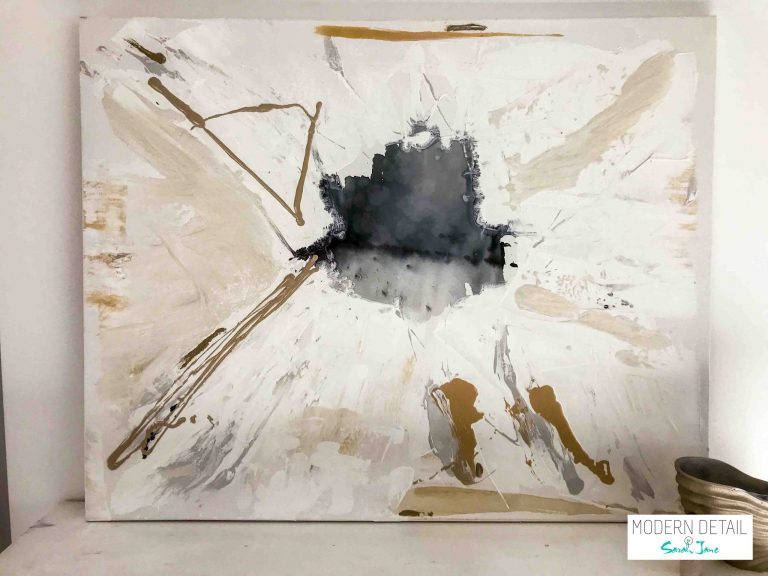 Contemporary Painting named Stellar from Modern Detail By Sarah Jane