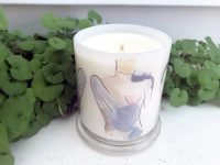 Designer Candles Australia By Sarah Jane Adelaide Artist with people art bodyline i