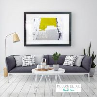 Glass Art Print with Modern Art from Modern Detail By Sarah Jane - Cozzie Va