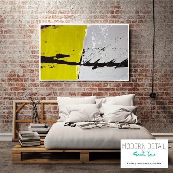 Glass Print for the bedroom By Sarah Jane - Cozzie VIIb