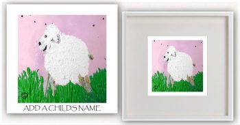 Kids Print By Sarah Jane - Lambie Ib