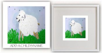 Kids Print By Sarah Jane - Lambie Id