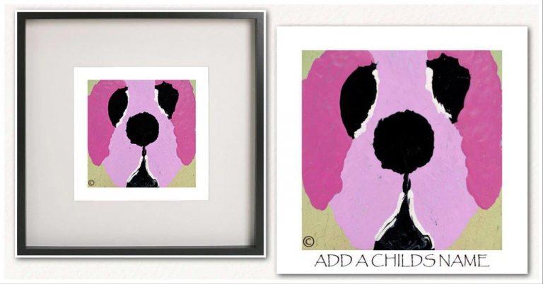 Kids Print By Sarah Jane - Woofa Ih