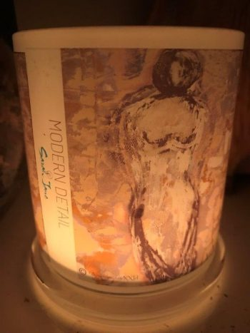 Lit Candle from Modern Detail By Sarah Jane - Anonymous XXId Front View