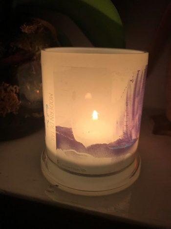 Lit Candle from Modern Detail By Sarah Jane - Colour me Happy XIIIe Front View