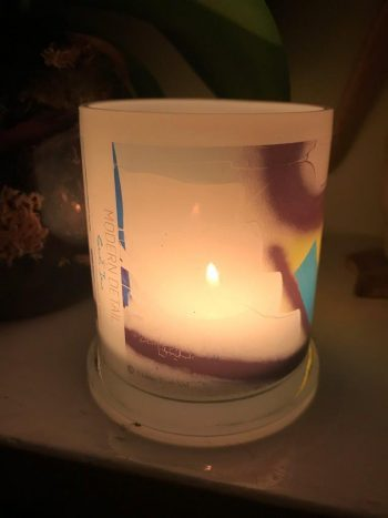 Lit Candle from Modern Detail By Sarah Jane - Hidden Truth XVI Front View