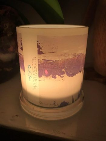 Lit Candle from Modern Detail By Sarah Jane - One of Us XIIId Front View