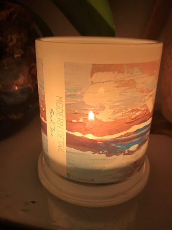 Lit Candle from Modern Detail By Sarah Jane - Tenderness VII Front View