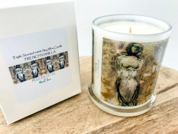 Luxury Candles By Sarah Jane artist people artwork Anonymous XXId with Natural Soy Wax