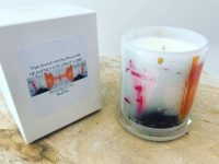 Luxury Soy Candle with colourful artwork from Adelaide business Modern Detail By Sarah Jane - United we Stand V