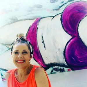 Mamamia summer challenge to be proud of your body - Real Woman Painting