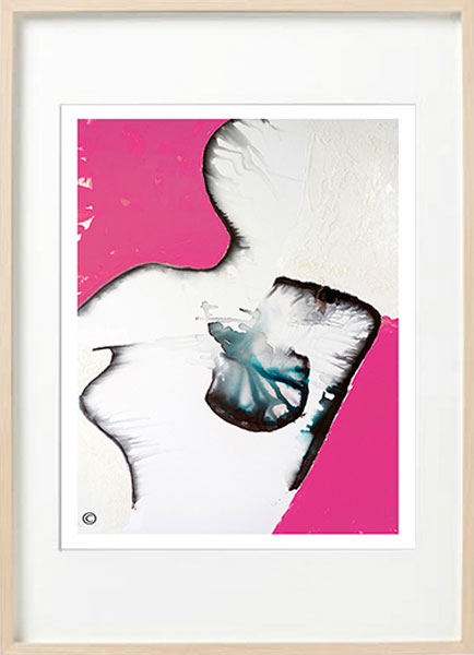 Modern-Abstract-Fine-Art-Print-woman-breast-cancer---Sarah-Jane-Art---Silhouette-Ia---Birch-effect-frame