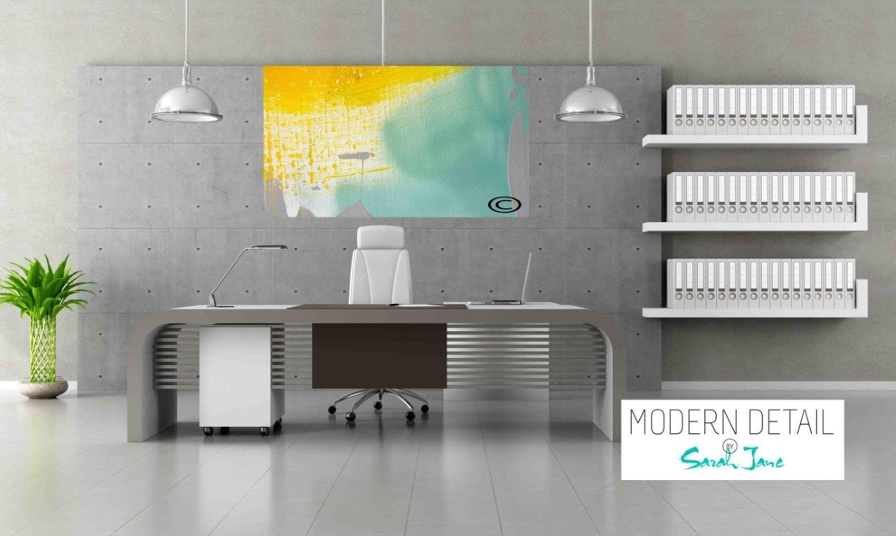 Modern Art for the Office By Artist Sarah Jane - Colour me Happy VI - Modern Detail By Sarah Jane