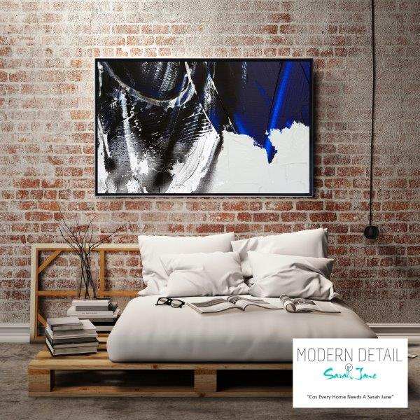 Modern Art for the bedroom By Sarah Jane - Anonymous III