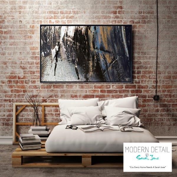 Modern Art for the bedroom in Neutral Colour Tones By Sarah Jane - Anonymous XIVe
