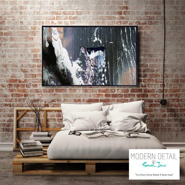 Modern Art for the bedroom in neutral tones By Sarah Jane - Anonymous XIIa