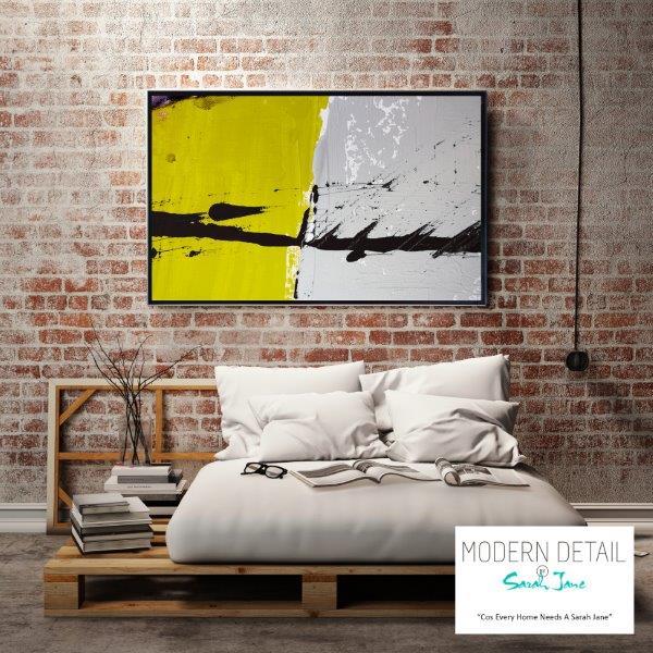 Modern Art for the modern bedroom By Sarah Jane - Cozzie VIIb