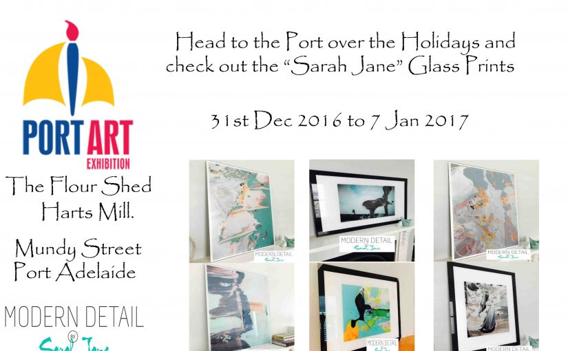"""Sarah Jane"" features in the Port Adelaide Art Exhibition 2016"