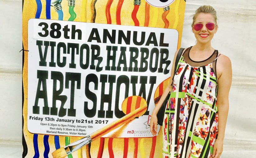 """Sarah Jane"" features in the Victor Harbor Art Show 2017"