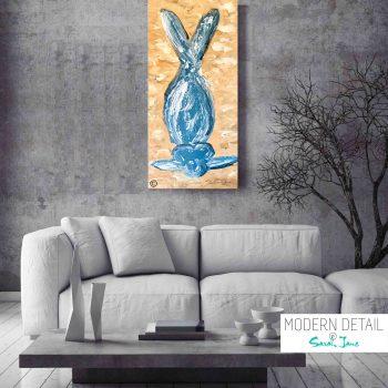 Modern Painting - Yoga Pose - MODERN DETAIL BY SARAH JANE