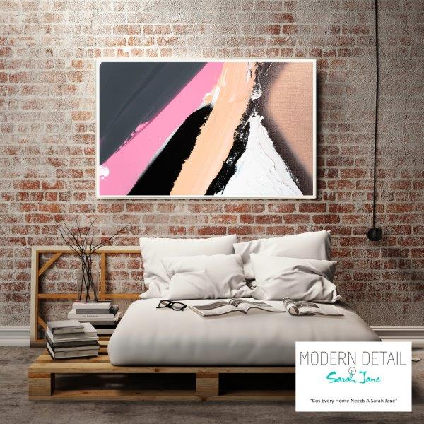 Modern Print for the bedroom By Sarah Jane - Being Watched XVIIIa