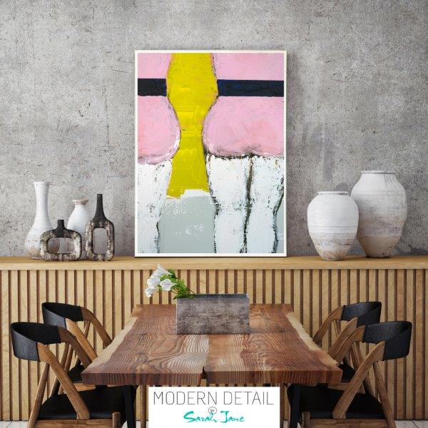 Modern Print for the dining room By Sarah Jane - Cozzie IId