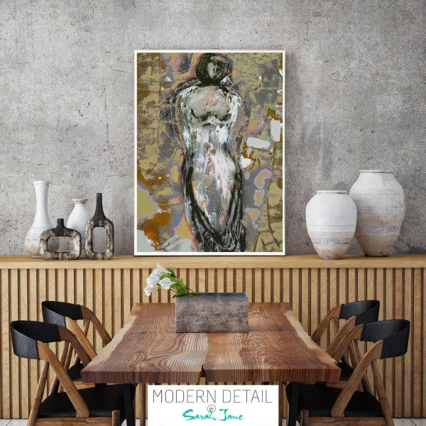 Modern Print of a woman for the dining room By Sarah Jane - Anonymous XXId