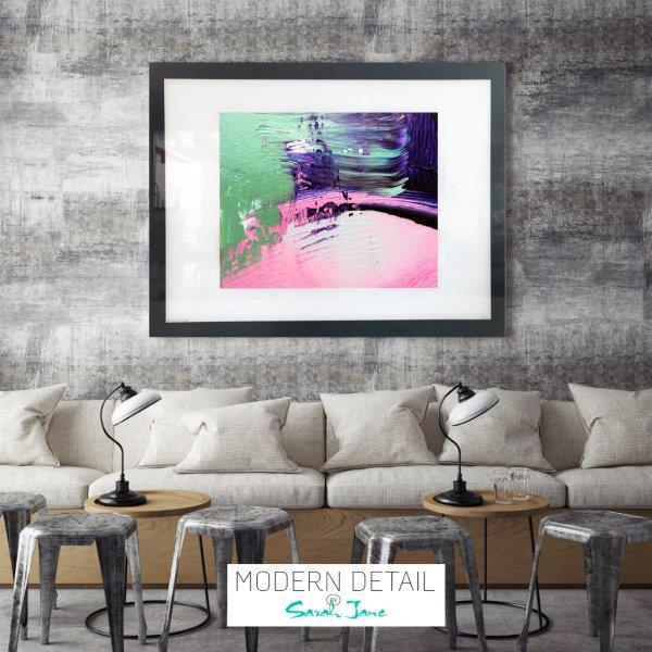 On Trend Wall Decor for a cafe from Modern Detail By Sarah Jane - Colour me Happy IX