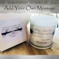 Bespoke Candles - Add Your Own Message