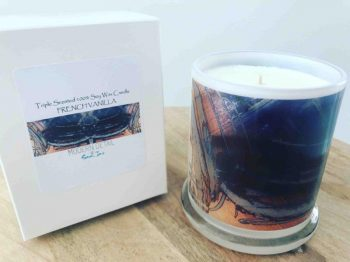 Sarah Jane Art Candle with sophisticated tones - Faceless XIIIg