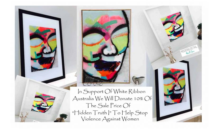 Sarah Jane Art highights the issue of Violence against women in Australia