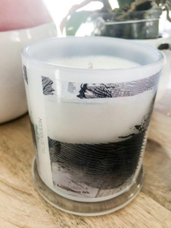Sarah Jane Candle with Personal Message - Anonymous IVh